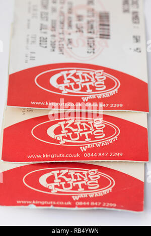 King Tuts Wah Wah Hut, Glasgow, Scotland, UK - tickets - Stock Photo