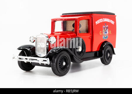 Matchbox Models of Yesteryear Y-22 Ford Model A Van 1930 - Stock Photo
