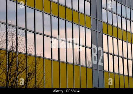 Politecnico University buildings in Bovisa district in Milano. Milan, January 4th, 2019 - Stock Photo