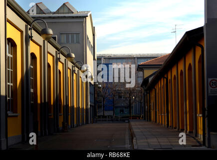 Politecnico University buildings in Bovisa district in Milano. Milan, January 4th, 2019 - Stock Photo