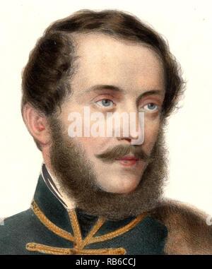 Lajos Kossuth de Udvard et Kossuthfalva (1802 – 1894) Hungarian nobleman, statesman and Governor-President of the Kingdom of Hungary during the revolution of 1848–49. - Stock Photo