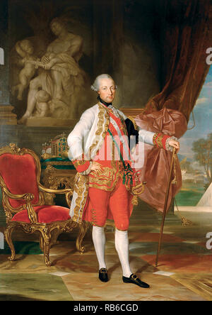 Joseph II (1741 – 1790) Holy Roman Emperor - Stock Photo