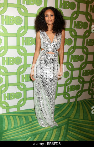 Beverly Hills, CA, USA. 6th Jan, 2019. LOS ANGELES - JAN 6: Thandie Newton at the 2019 HBO Post Golden Globe Party at the Beverly Hilton Hotel on January 6, 2019 in Beverly Hills, CA Credit: Kay Blake/ZUMA Wire/Alamy Live News - Stock Photo