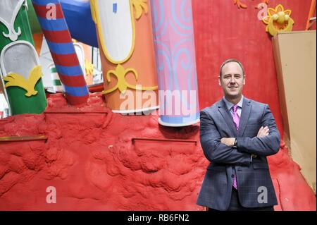 Los Angeles, California, USA. 18th Dec, 2018. David Eads, executive director and CEO of Pasadena Tournament of Roses. Credit: Ringo Chiu/ZUMA Wire/Alamy Live News - Stock Photo