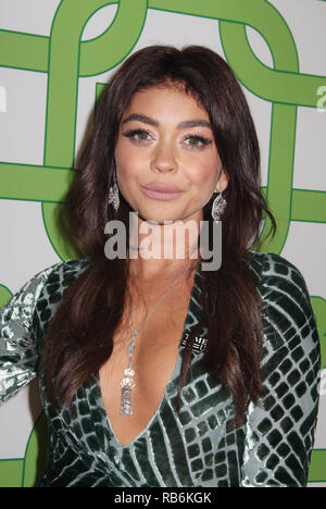 Sarah Hyland  01/06/2019 The 76th Annual Golden Globe Awards HBO After Party held at the Circa 55 Restaurant at The Beverly Hilton in Beverly Hills, CA Photo by Izumi Hasegawa / HollywoodNewsWire.co - Stock Photo