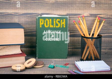 Polish language and culture concept - Stock Photo