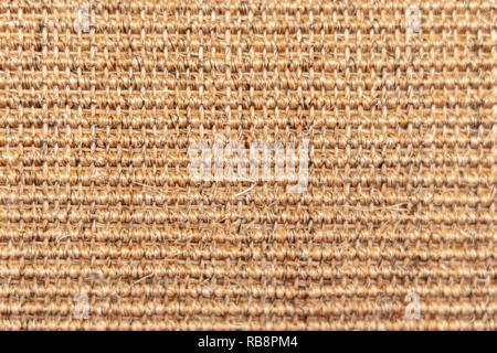 building material - brown wall-to-wall carpet - Stock Photo