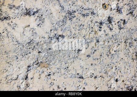 slag wall under plaster - Stock Photo