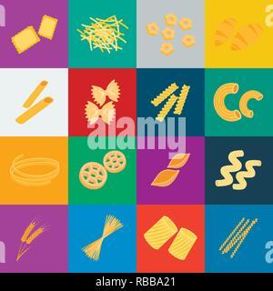 art,bucati,carbohydrate,cartoon,cavatappi,cereal,chifferi,collection,conchiglie,design,ditalini,dough,ears,farfalle,figured,filini,food,fusilli,gnocchi,icon,illustration,isolated,logo,macaroni,pasta,penne,product,ravioli,rigate,rotelle,set,shape,sign,spaghetti,stelline,symbol,tagliatelle,types,vector,web,wheat Vector Vectors , - Stock Photo