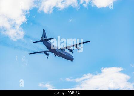 Freight military plane. - Stock Photo