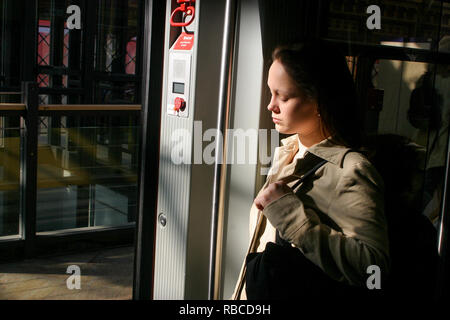 S-Bahn, Berlin, Germany - Stock Photo