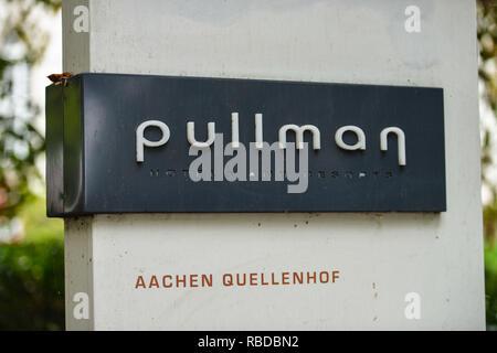 Hotel of Pullman spring court, avenue Monheims, North Rhine-Westphalia, Germany, Hotel Pullman Quellenhof, Monheimsallee, Nordrhein-Westfalen, Deutsch - Stock Photo