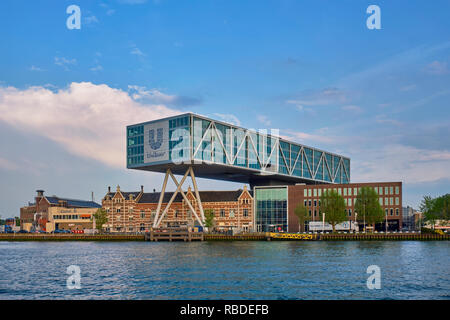 Unilever building, Rotterdam - Stock Photo