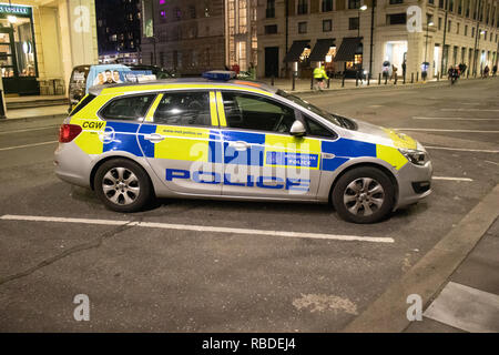 Emergency Service Vehicles in London - Stock Photo
