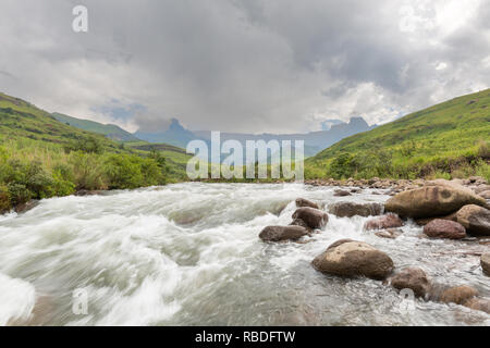 Rain on the Amphitheatre - Stock Photo