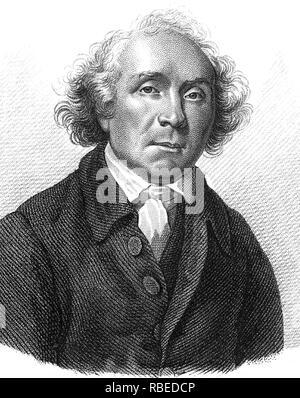 JOHN HUNTER (1728-1793) Scottish surgeon - Stock Photo