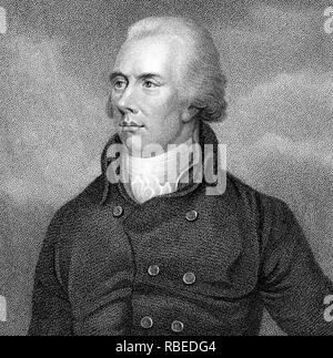 WILLIAM PITT THE YOUNGER (1759-1806) British Tory Prime Minister - Stock Photo