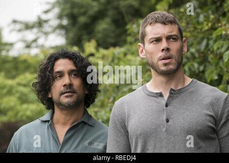 Naveen Andrews, Brian J. Smith, 'Sense8' Season 2 (2018)  Credit: Netflix / The Hollywood Archive - Stock Photo
