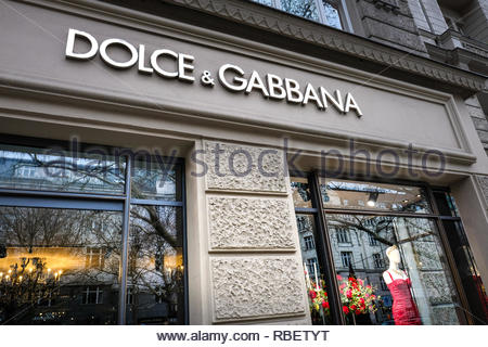 Dolce Gabbana store - Stock Photo