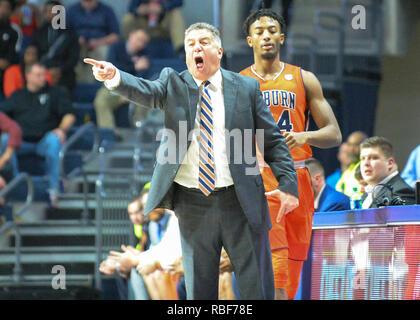 Oxford Ms Usa 09th Jan 2019 Auburn Head Coach Bruce