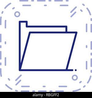 Vector Folder Icon - Stock Photo