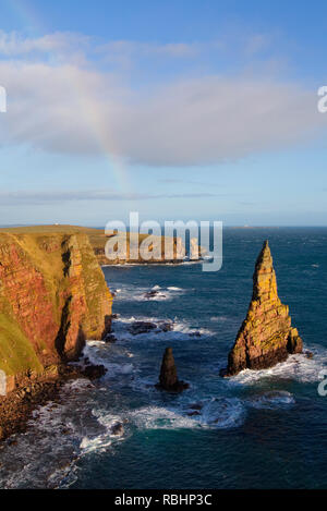 Duncansby Stacks, Caithness - Stock Photo