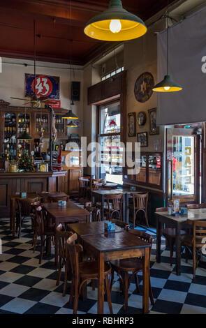 Cafe Bar 'El Hipopotamo'. San Telmo, Buenos Aires, Argentina - Stock Photo
