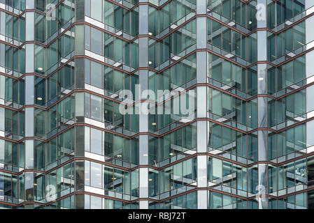 Modern architecture at Number 1 University Avenue, Toronto - Stock Photo
