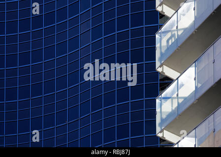 Contemporary architectural details in Toronto, Canada - Stock Photo