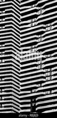 Modern architecture details in Toronto Canada - Stock Photo