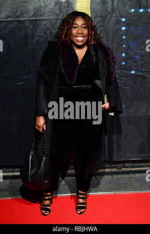Chizzy Akudolu attending the Gold Movie Awards 2019, held at Regent Street Cinema in Marylebone, London. - Stock Photo