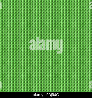 Green colored geometric shape. Shiny Square, shapes and patterns. - Stock Photo