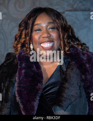 Chizzy Akudolu attends the 2019 Gold Movie Awards at Regent Street Cinema in London, England. - Stock Photo