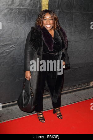 Chizzy Akudolu seen during The Gold Movie Awards at Regent Street Cinema in London. - Stock Photo