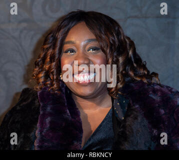 London, UK. 10th Jan 2019. Chizzy Akudolu attends the 2019 'Gold Movie Awards' at Regent Street Cinema on January 10, 2019 in London, England Credit: Gary Mitchell, GMP Media/Alamy Live News - Stock Photo