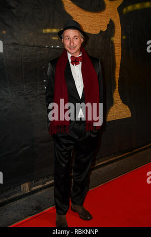 London, UK. 10th Jan 2019. Alessandro Negrini attends Arrivers at The Gold Movie Awards at Regent Street Cinema on 10 January 2019, London, UK. Credit: Picture Capital/Alamy Live News - Stock Photo