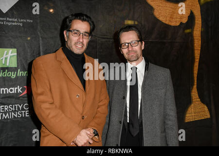 London, UK. 10th Jan 2019. Arrivers at The Gold Movie Awards at Regent Street Cinema on 10 January 2019, London, UK. Credit: Picture Capital/Alamy Live News - Stock Photo