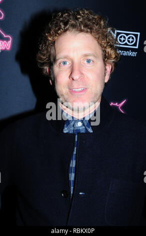 Los Angeles, California, USA. 10th January, 2019. Actor Jeff Grace attends LA Premiere of The Orchard's' 'The Unicorn' on January 10, 2019 at ArcLight Hollywood in Los Angeles, California. Photo by Barry King/Alamy Live News - Stock Photo