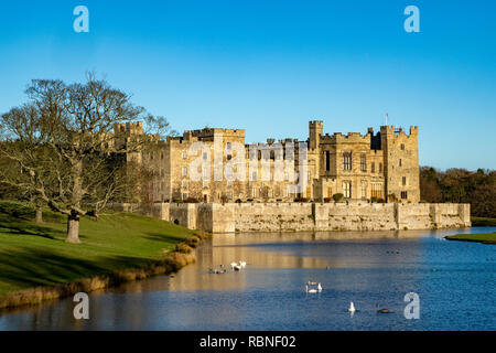 Raby Castle, Staindrop, Teesdale County Durham - Stock Photo