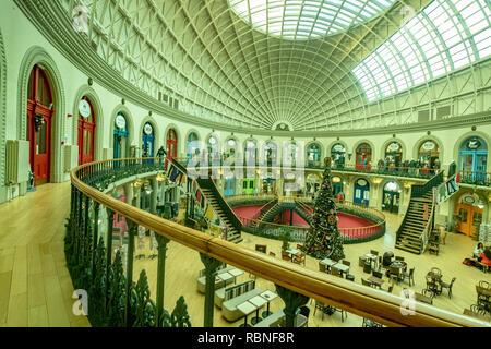 The Corn Exchange, Leeds City Centre, Yorkshire - Stock Photo