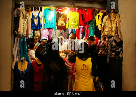 Street Life in the Souk, Homs. Syria, Middle East - Stock Photo
