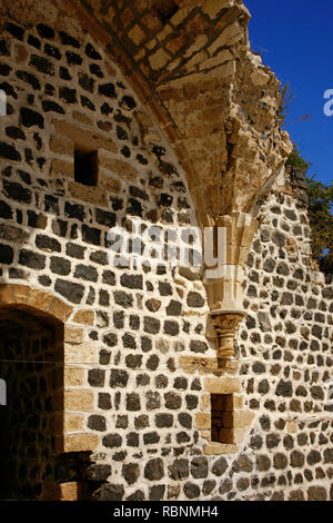 Chapel, The Margat castle of the crusaders. Marqab, Syria, Middle East - Stock Photo