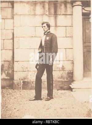 -Portrait of a Man in Military Regalia- - Stock Photo