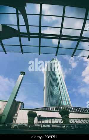 modern architecture in Rotterdam - Stock Photo