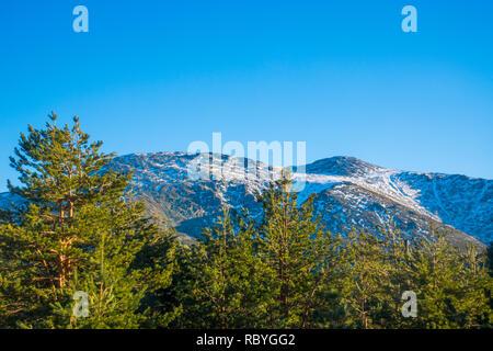 Landscape. Sierra de Guadarrama National Park, Madrid province, Spain. - Stock Photo