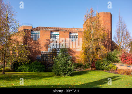 Robinson College, University of Cambridge, founded 1977 and one of the newest Oxbridge colleges. Grange Road, Cambridge, UK - Stock Photo