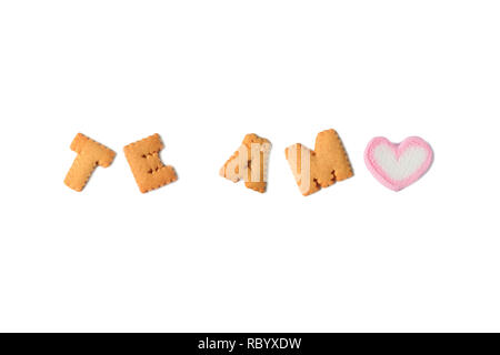 alphabet meaning for love
