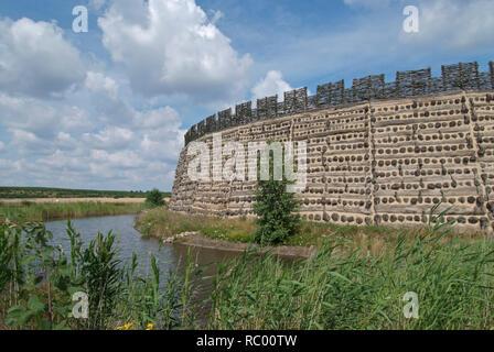 Slawenburg Raddusch bei Vetschau, Spreewald, Landkreis Oberspreewald-Lausitzkreis, Land Brandenburg, Deutschland, Europa | castle for the Wends, Wend' - Stock Photo