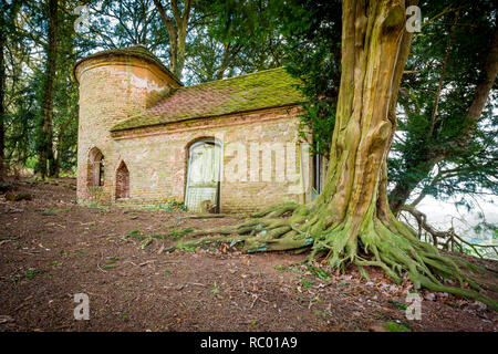 Shenstone's Chapel, near Enville and Kinver, Staffordshire, UK - Stock Photo