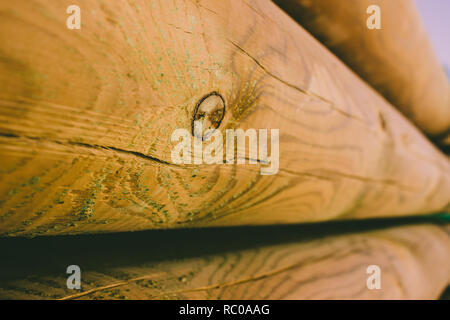 Wooden pattern. Abstract photo of a pile of natural wooden logs background. - Stock Photo